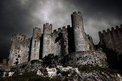 Castello scuro Fotografie Stock