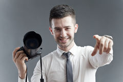 Casting call Royalty Free Stock Photos