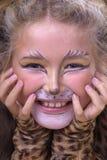 Cat girl Royalty Free Stock Photo