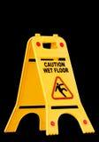 Caution wet floor, sign Stock Photography