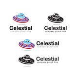 Celestial Bodies for Kids Toys Royalty Free Stock Images