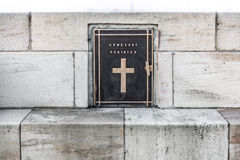 Cemetery register Stock Photography