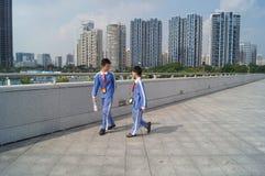 Centro sportivo della baia di Shenzhen Fotografia Stock Libera da Diritti