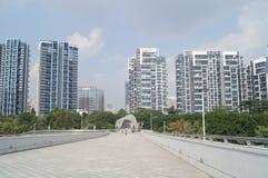 Centro sportivo della baia di Shenzhen Fotografia Stock