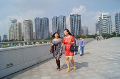 Centro sportivo della baia di Shenzhen Immagini Stock
