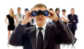 CEO looking to hire you! Stock Photo