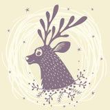 Cervos fabulosos Foto de Stock Royalty Free