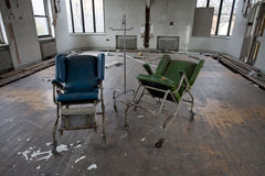 Chairs in empty room Royalty Free Stock Photography