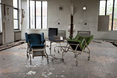 Chairs in empty room Royalty Free Stock Photo