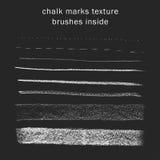 Chalk lines texture Stock Photo