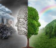Changement d'environnement Images libres de droits