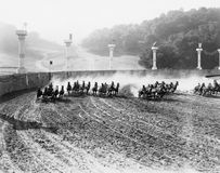 CHARIOT RACE Stock Images