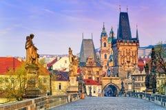 Charles Bridge, Prague, Czech Republic Royalty Free Stock Photo