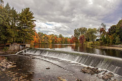 Charles River in Autumn Royalty Free Stock Photography