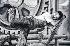 Charlie Chaplin Imágenes de archivo libres de regalías