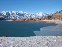 Charvak Reservoir Stock Images