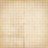 Checked antique vintage textured paper with checks Stock Photo