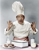 CHEF OF THE FUTURE Stock Photography