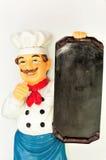 Chef with menu Stock Photos