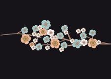Cherry blossom tree flowers Stock Photo