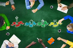 Chess Game Strategy Leisure Entertainment Recreation Concept Stock Image