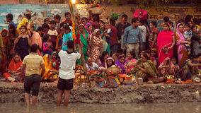 Chhath festival Royalty Free Stock Images