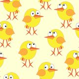 Chicken repetition Royalty Free Stock Photography