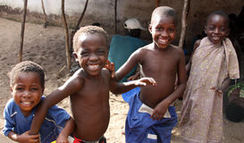 Children in Africa Royalty Free Stock Photos