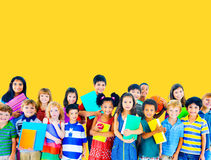 Children Cheerful Studying Education knowledge Concept Royalty Free Stock Photography