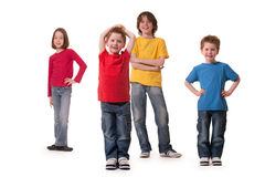 Children everywere Royalty Free Stock Image