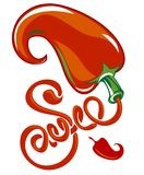Chili sauce Royalty Free Stock Photography