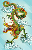Chinese Dragon Painting Royalty Free Stock Images