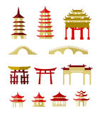 Chinese traditional buildings Royalty Free Stock Photography