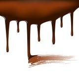 Chocolate temptation Stock Image