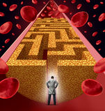 Cholesterol Treatment Stock Images