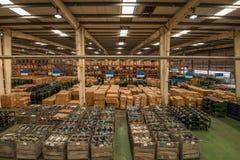 Chongqing Minsheng Logistics Chongqing Branch Auto Parts Warehouse Stock Photography