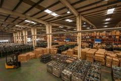 Chongqing Minsheng Logistics Chongqing Branch Auto Parts Warehouse Stock Images