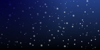 Christmas a background with falling snowflakes.Vector Stock Image