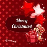 Christmas banner design Stock Images