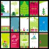 Christmas cards templates Stock Photo