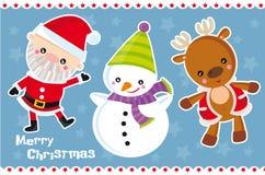 Christmas charcters Stock Photography