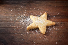 Christmas Cookie Star Royalty Free Stock Photography