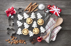 Christmas Cookies Baking Stock Images