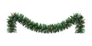 Christmas Garland Decoration Royalty Free Stock Image