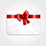 Christmas gift card Royalty Free Stock Image