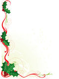 Christmas Holly Border Royalty Free Stock Image