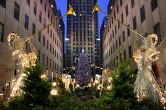 Christmas in New York Stock Photo