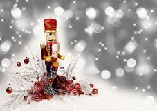 Christmas Nutcracker Drummer Royalty Free Stock Photography