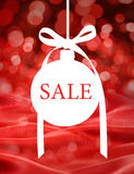 Christmas Sale Ornament Background Royalty Free Stock Image