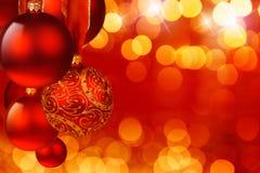 Christmas spheres Royalty Free Stock Image